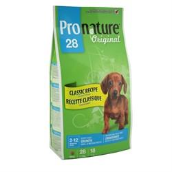 Pronature Original - Пронатюр 28 сухой корм для щенков мелких и средних пород (цыпленок) - фото 17486