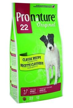 Pronature Original - Пронатюр 22 сухой корм для собак (ягненок и рис) - фото 17494