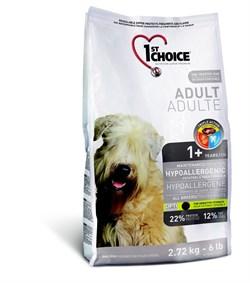 1St Choice - Сухой корм для собак гипоаллергенный (утка с картофелем) - фото 17499
