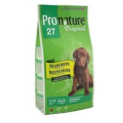 Pronature Original - Пронатюр 27 сухой корм для щенков (цыпленок) - фото 17500