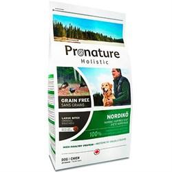 Pronature Holistic GF - Сухой корм для собак Нордико (крупные гранулы) - фото 17510