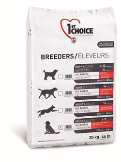 1St Choice - Сухой корм для собак всех пород для кожи и шерсти (ягнёнок с рыбой и рисом) Breeders - фото 17512