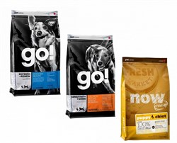 Go! Natural Holistic - Сухой корм для собак (холистик меню) Go & NOW Natural - фото 17525