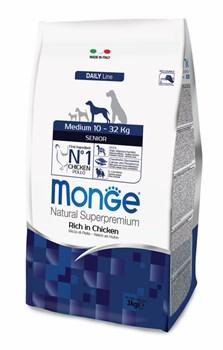 Monge - Сухой корм для пожилых собак средних пород Dog Medium - фото 17623