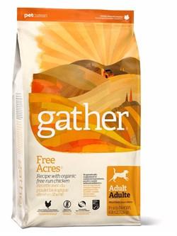 GATHER organic (Petcurean) - Органический сухой корм для собак (с курицей) Free Acres Chicken - фото 17641