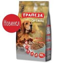 Трапеза - Сухой корм для собак ОПТИМАЛЬ - фото 17764