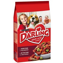 Purina Darling - Сухой корм для собак (с мясом и овощами) - фото 17899