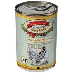 """Frank's ProGold - Консервы для собак """"Аппетитные кусочки индейки"""" Delicious turkey bits Adult Dog Recipe - фото 18205"""