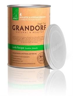 Grandorf - Консервы для взрослых собак (ягнёнок) Simple Diet Adult Lamb Recipe - фото 18216