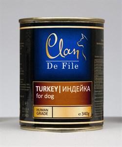 Clan De File - Консервы для собак (индейка) № 62 - фото 18252
