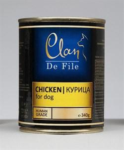 Clan De File - Консервы для собак (курица) № 63 - фото 18260