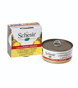 Schesir - Консервы для собак (цыплёнок с ананасом) - фото 18262