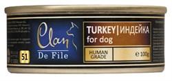 Clan De File - Консервы для собак (индейка) № 52 - фото 18281