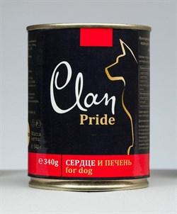 Clan Pride - Консервы для собак (говяжье сердце и печень) № 94 - фото 18286