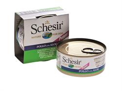 Schesir - Консервы для щенков (цыплёнок с алое) - фото 18291