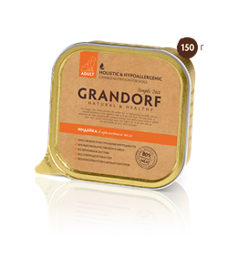 Grandorf - Консервы для собак (индейка) - фото 18461