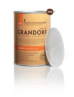 Grandorf - Консервы для взрослых собак (индейка) Simple Diet Adult Turkey Recipe - фото 18462