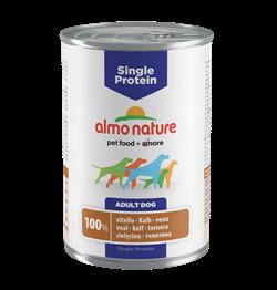 Almo Nature - Консервы для собак с чувствительным пищеварением (с Телятиной) Single Protein Veal - фото 18512