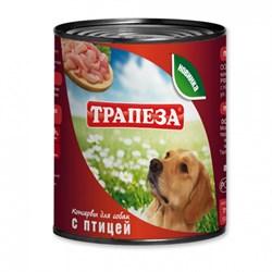 Трапеза - Консервы для собак (с птицей) - фото 18561