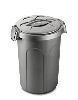 Stefanplast - Контейнер для хранения корма, 45х40х61см, 16кг (серебряный) Container Tom Silver - фото 18771