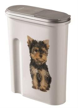 "Curver PetLife - Контейнер для корма ""Собака"" на 1,5кг/4,5л , 25*10*30см - фото 18773"