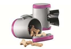 Flexi - Коробка для лакомств или одноразовых пакетов (розовая) Vario Multi Box pink - фото 18779