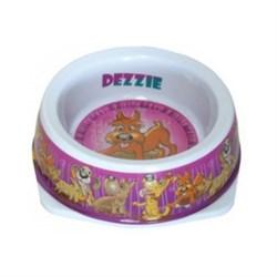 "Dezzie - Миска для собак ""Азарт"", 150 мл, 12,5*4,5 см, пластик - фото 18819"