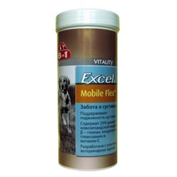 8in1 - Добавка для суставов и связок Эксель Мобайл Флекс плюс Excel Mobile Flex + - фото 18905