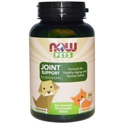 Now Foods, Now Pets - Витамины для здоровья суставов собак и кошек (жевательные таблетки) - фото 18907