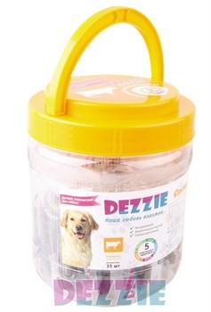 Dezzie - Лакомство для собак (сосиски из говядины) в банке 35 штук - фото 18919