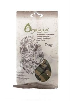 """Organix - Лакомства для собак """"Зубные щеточки"""" (с говядиной и курицей) Toothbrushes - фото 18970"""