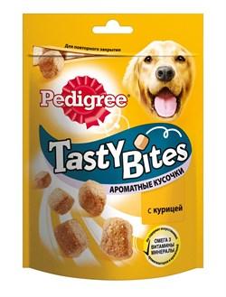 """Pedigree - Лакомство для собак (Ароматные кусочки с курицей) """"Tasty Bites"""" - фото 19074"""