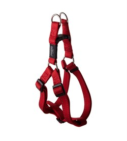 Rogz - Шлейка разъемная, красный (размер S (27-38 см), ширина 1,1 см) UTILITY STEP IN HARNESS - фото 19920