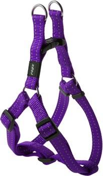 Rogz - Шлейка разъемная, фиолетовый (размер S (27-38 см), ширина 1,1 см) UTILITY STEP IN HARNESS - фото 19925