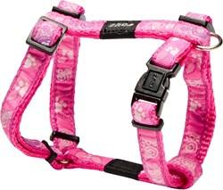 "Rogz - Шлейка ""Розовая лапка"" (размер M (32-52 см), ширина 1,6 см) FANCY DRESS H-HARNESS - фото 19970"
