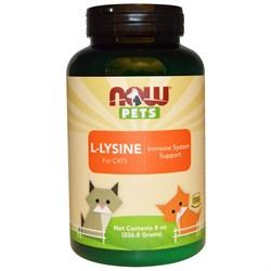 Now Foods,Now Pets - L-лизин для кошек - фото 20423