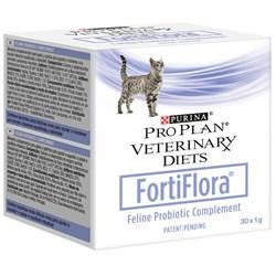 Purina Pro Plan - Пребиотическая добавка для кошек и котят (30 шт*1 г) Veterinary diets Forti Flora - фото 20425