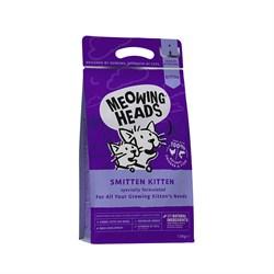 "Barking Heads - Сухой корм для котят ""Восторженный котенок"" (с курицей и рисом) Smitten Kitten - фото 20667"