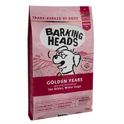 """Barking Heads - Сухой корм для собак старше 7 лет """"Золотые годы"""" (с курицей и рисом) Golden Years - фото 20670"""