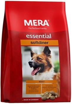 Mera - Сухой полнорационный корм для взрослых собак с повышенным уровнем активности (с птицей) Essential Softdiner - фото 20931