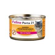 Porta 21 Feline - Консервы для кошек (филе тунца с сурими в желе) Tuna with Surimi in Jelly