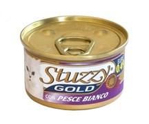 Stuzzy - Консервы для кошек (мусс из белой рыбы) GOLD