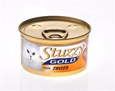 Stuzzy - Консервы для кошек (мусс из форели) GOLD