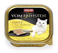 """Animonda - Консервы для взрослых кошек """"Меню для гурманов"""" (с индейкой, говядиной и морковью)  Vom Feinsten Adult"""
