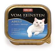 Animonda - Консервы для взрослых кошек (с лососем и креветками) Vom Feinsten Adult