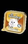 Simba Cat - Консервы для кошек (паштет из курицы)
