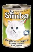 Simba Cat - Консервы для кошек (паштет из кролика)