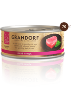 Grandorf - Консервы для кошек (филе тунца)