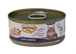 Мнямс - Консервы для кошек (тунец с дорадо в нежном желе)