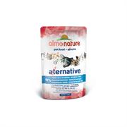 "Almo Nature Alternative - Паучи для кошек ""Атлантический тунец"", 91% мяса Alternative Atlantic Tuna"
